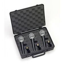Samson R21 Dynamic Cardiod Vocal Microphone 3 Pack Live