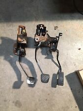 92 93 94 95 HONDA CIVIC GAS BRAKE CLUTCH PEDAL PEDALS ASSEMBLY OEM 5 SPEED