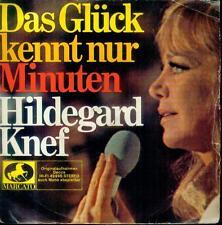 """7"""" Hildegard Knef/Das Glück Kennt Nur Minuten (EP)"""