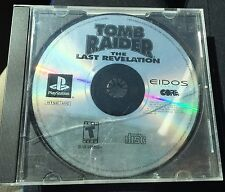 Tomb Raider The Last Revelation - Video Game - Playstation - Disc