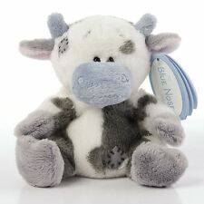 "4"" My Blue Nose Friends Milkshake the Cow No. 21 - Plush Soft Toy"