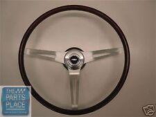 1969 Camaro / Chevelle / Nova / Impala / El Camino Rosewood Steering Wheel Kit