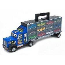49CM TRUCK CARRY CASE WITH 12 TOY CARS HOT SELLER !!!!