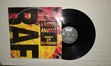 "RAF – Il Battito Animale REMIX - Disco Mix 12"" 45 Giri Vinile Stampa ITALIA 1993"