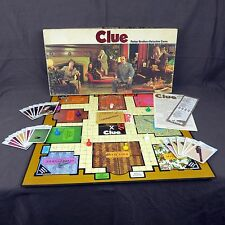 Clue Board Game Vintage 1972 Parker Brothers USA Detective Classic Mystery
