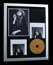 FLORENCE+THE MACHINE+SIGNED+FRAMED+BIG+BLUE+MAN=100% GENUINE+EXPRESS GLOBAL SHIP