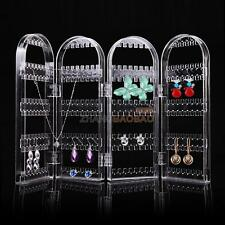4Doors Earring Jewelry Show Clear Plastic Display Rack Stand Organizer Holder ZZ