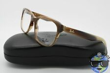 Ray Ban RX Eyeglasses RB 5340 5542 Brown Horn Frame [51-18-140]