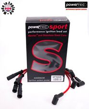 PowerTEC Sport 8mm Ignition HT Leads Wire Fiat Seicento Cinquecento 1.1 Sporting