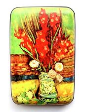 "Credit Card Case (Armor Wallet) - ""Vase With Red Gladioli"" Protect Your Identity"