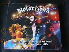 Slip Double: Motorhead : Better Motorhead Than Dead Live Hammersmith 2005 Sealed