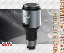 LDNIO 2.4A CM20 Car Charger with Bluetooth Headset