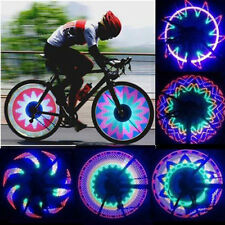 32 LED Patterns Cycling Bikes Bicycles Rainbow Wheel Signal Tire Spoke Light H5