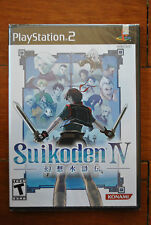 SUIKODEN 4 IV PS2 PLAYSTATION 2 (US) NTSC NUEVO BRAND NEW SEALED