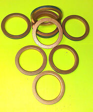 COPPER EXHAUST GASKETS SEAL HEADER GASKET RING 42mm OD, 32mm ID *NEW DESIGN* F42