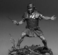 Ancient Rome, Legionary in battle 1st Century BC. 75 mm Lead Figure