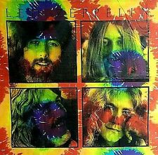Led Zeppelin Tie Dye Tapestry // Page Plant Bonham // Trippy wall hanging groovy
