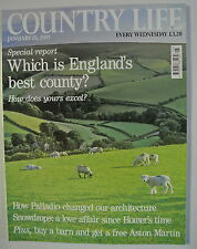 Country Life Magazine. January 28, 2009. Which is England's best county?