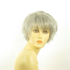 short wig for women gray ref: VALENTINE 51  PERUK