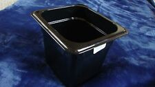 66CW110, CAMWEAR, Black Cambro food containers 1/6 x 6in (6 Pack)