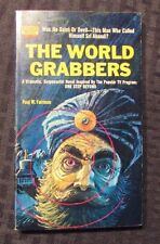 1964 THE WORLD GRABBERS by Paul Fairman VF- 1st Monarch 471  Paperback