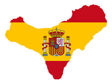 "Auto Aufkleber ""El Hierro"" Spanien Spain Decal Sticker!"