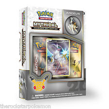 POKEMON TCG~MYTHICAL ARCEUS COLLECTION BOX SET~FACTORY SEALED MINT!