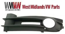 VW CADDY III 04-10 LEFT FRONT BOTTOM FOG LIGHT BUMPER GRILLE TRIM BEZEL NEW
