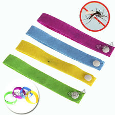 25xAnti Mosquito Mozzie Pest Insect Bugs Repellent Repeller Wrist Bands Bracelet