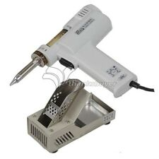 HHua S-993A 110V 100W 60Hz Electric Vacuum Desoldering Pump Solder Sucker Gun