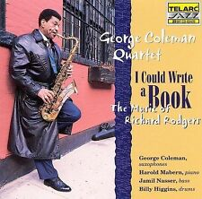Coleman, George, I Could Write A Book: The Music Of Richard Rodgers, Excellent