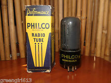 Vintage Unused Philco 6F6 Stereo Tube Very Strong  Results = 2120  #4882