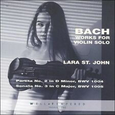 Bach Works for Violin Solo, , Good