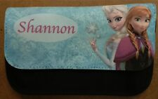 Personalised Frozen Black Make Up Bag / Pencil Case Great Stocking Filler Girls