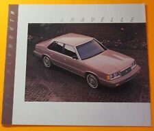 1987 PLYMOUTH CARAVELLE SHOWROOM SALE BROCHURE ..10- PAGES