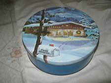 1 Swiss Kringle old world cookie Round Tin-Container