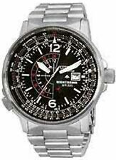 Citizen Men's Eco-Drive BJ7000-52E Silver Stainless-Steel Eco-Drive Watch