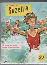 SEMAINE DE SUZETTE Album n°22 (1960 n°109 à 120) - Superbe état