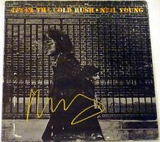 NEIL YOUNG HAND SIGNED AUTOGRAPHED AFTER THE GOLD RUSH ALBUM! W/ PROOF + C.O.A.!