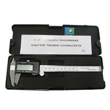 150mm 6inch Digital Electronic Gauge Stainless Steel Vernier Caliper Micrometer
