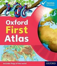 **Brand New** Oxford First Atlas Hardback- 9780198487852-Revised Edition-by OUP