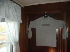 timberland t-shirt gray long sleeve BLUE SMOKE JAZZ STANDARD size LARGETALL NEW