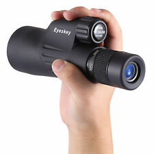 New 50mm BAK4 Prism Waterproof Zoom 10-30x50 Monocular w/ Tripod Spotting Scope
