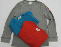 BODEN BOYS LONG SLEEVED WAFFLE TOP T SHIRT 4 COLOURS AGES 1-12  BNWOT