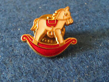 Enamel Badge - Rocking Horse - Produced by James Anthony