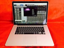 "15"" MacBook Pro RETINA  Quad i7 2.6Ghz 16GB+ 512GB + EDIT + COMPOSE + DESIGNING"