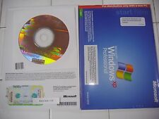 MICROSOFT WINDOWS XP PROFESSIONAL w/SP3 FULL OPERATING SYSTEM MS WIN PRO=NEW=