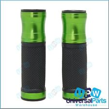 Green Motorcycle Handlebar Grips ideal for Kawasaki KLX 450 650 KM100 KR250