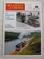 Chemins de fer régionaux et urbains 285 2001 tramways a air comprimé
