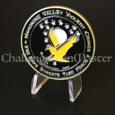 B78 FBI Mahoning Valley Violent Crimes Youngstown Ohio Challenge Coin